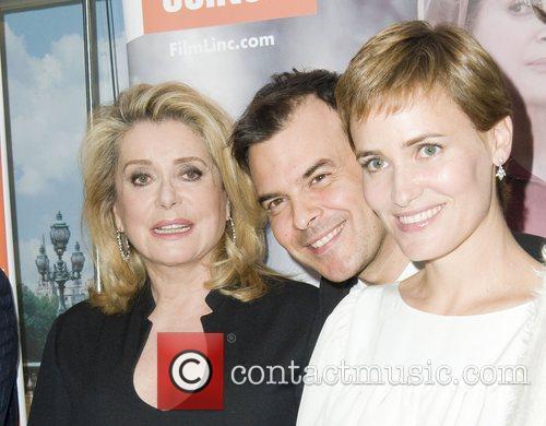Catherine Deneuve and Francois Ozon 11