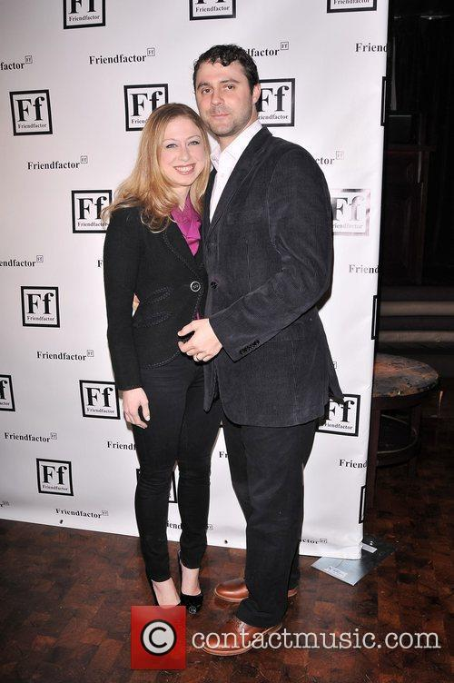 At the New York launch of Friendfactor at...