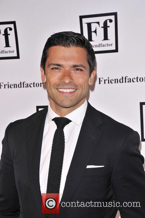 Mark Consuelos at the New York launch of...