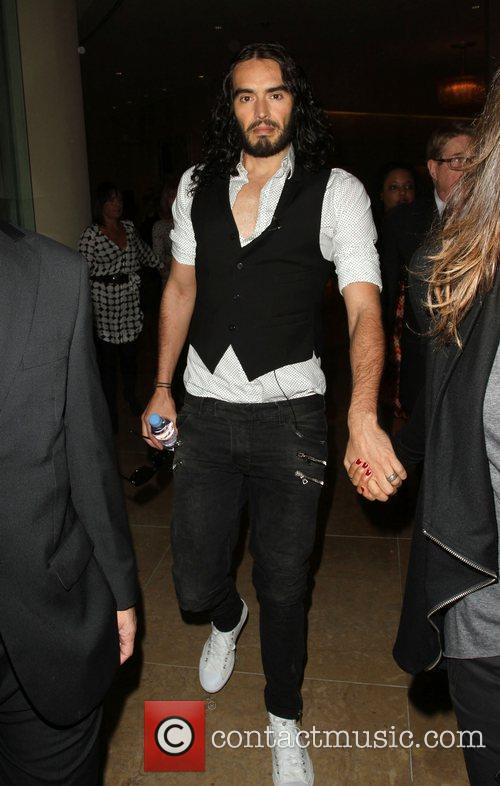 Russell Brand and Beverly Hilton Hotel 2