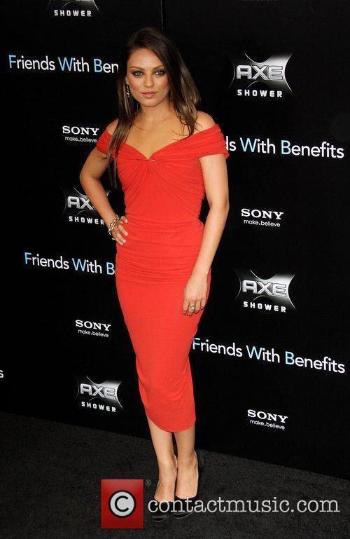 New York premiere of 'Friends with Benefits', held...