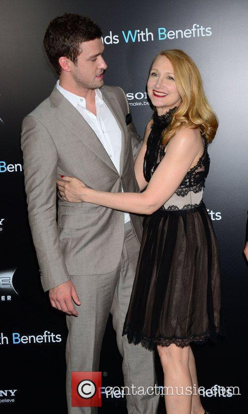 Justin Timberlake and Patricia Clarkson