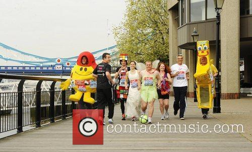 Virgin London Marathon: Guinness World Record Attemptees -...
