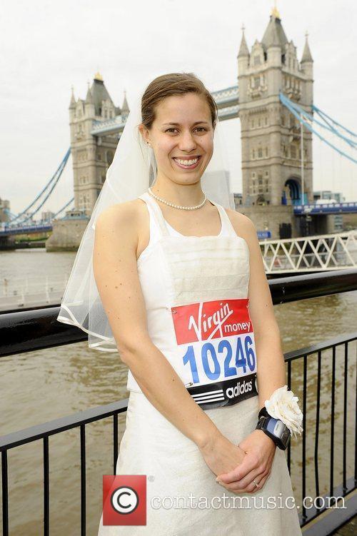 Eleanor Franks (Fastest Marathon in a wedding dress)...