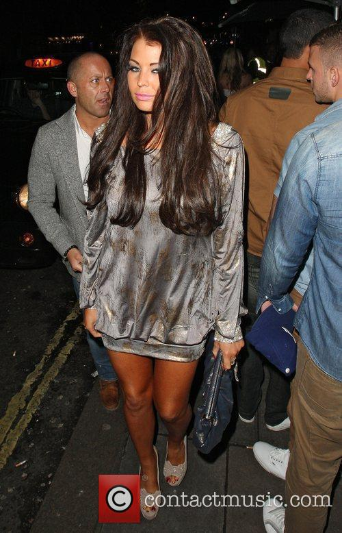 Jessica Wright arriving at Funky Buddha