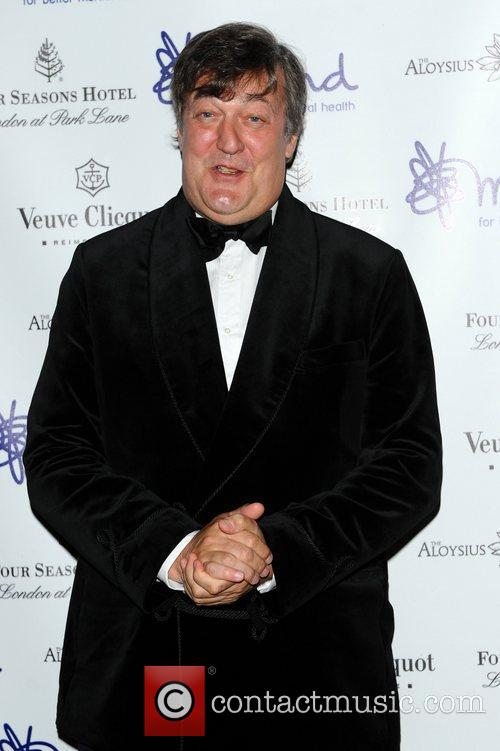 Stephen Fry Mindful Gala Dinner, held at Imperial...