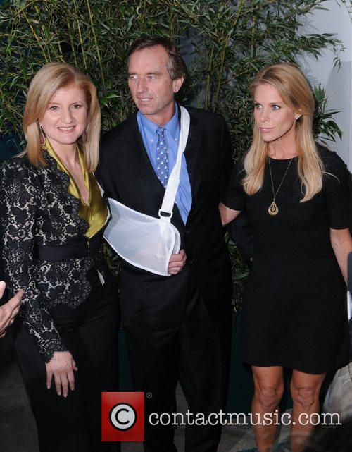 Arianna Huffington and Robert Kennedy Jr The Huffington...