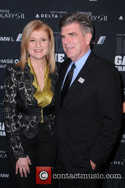 Arianna Huffington and Tom Freston, The Huffington Post...