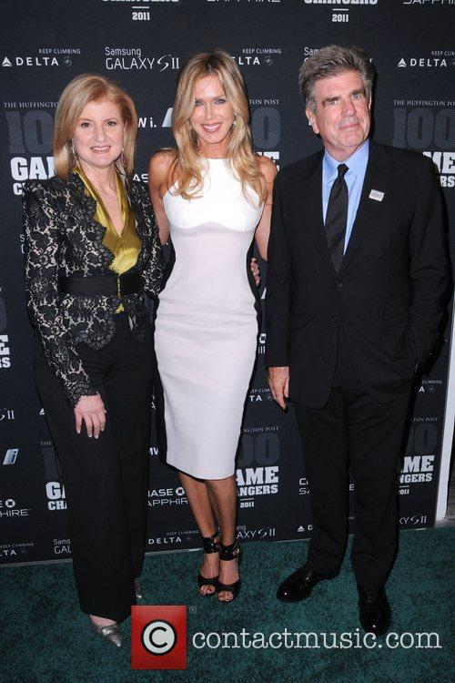 Arianna Huffington, Kathy Freston and Tom Freston, The...