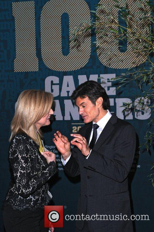 Dr Oz and Arianna Huffington The Huffington Post...