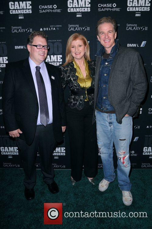 Guest, Arianna Huffington and Matthew Modine The Huffington...