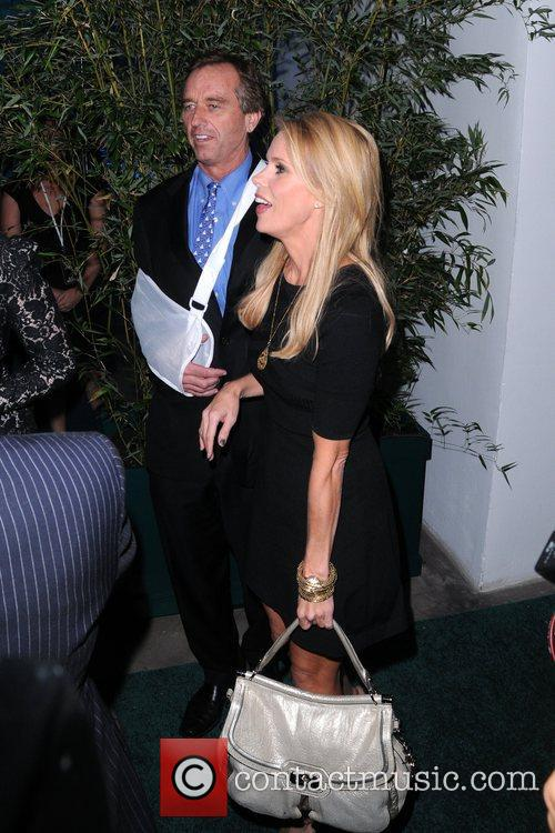 Robert Kennedy Jr and Cheryl Hines The Huffington...