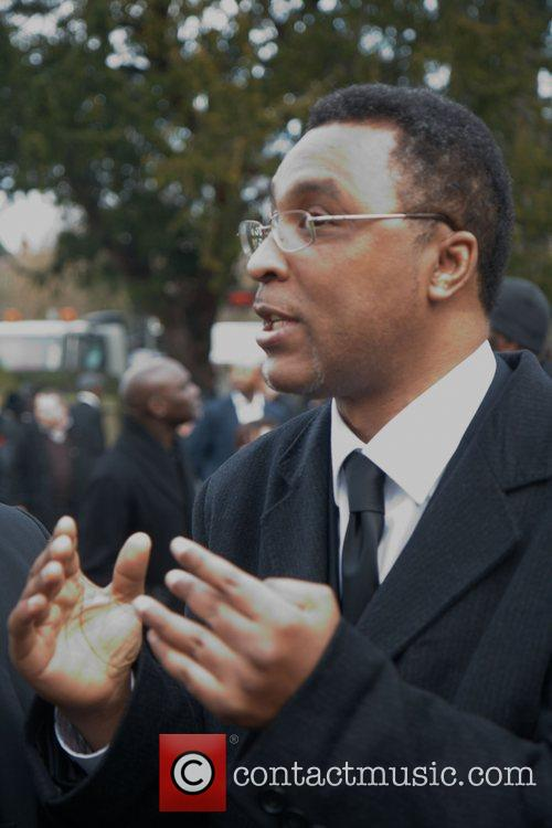 Michael Watson The funeral of the former British...