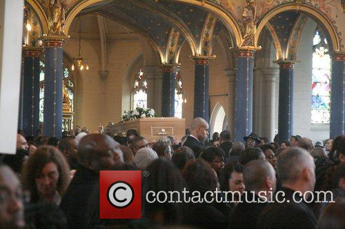 Atmosphere The funeral of the former British boxing...