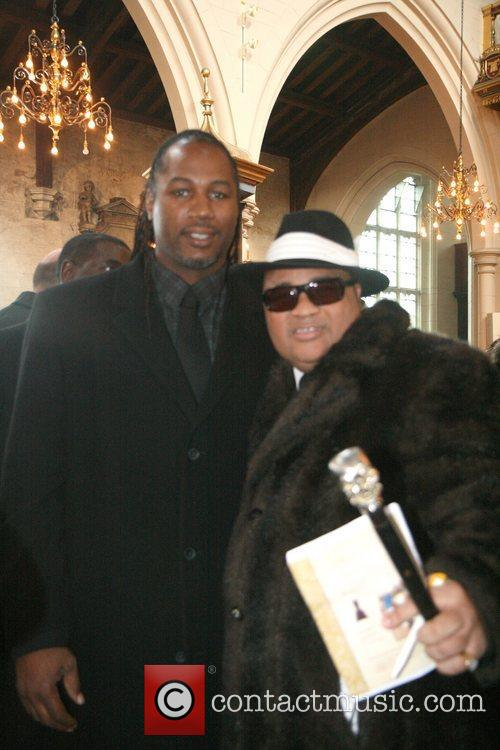 Lennox Lewis, Lloyd Honeyghan The funeral of the...