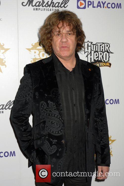 *file photos* Gary Moore, former Thin Lizzy guitarist,...