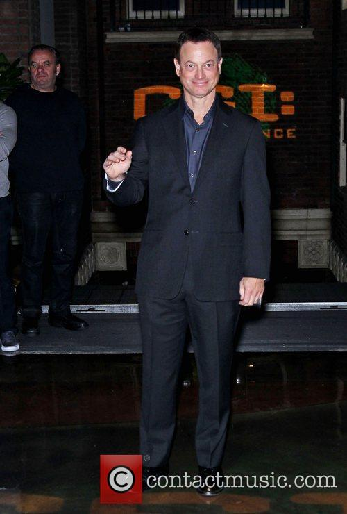 CSI The Experience welcomes Gary Sinise as part...