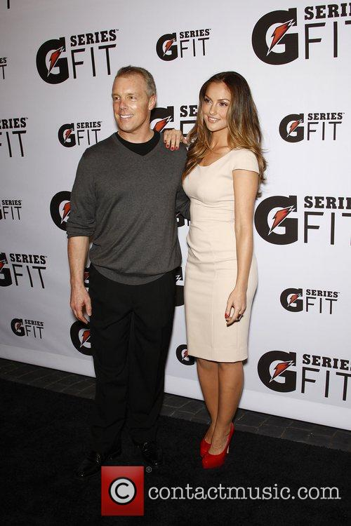 Minka Kelly and Gunnar Peterson