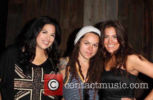 Rose Garcia, Whitney Mixter, Raquel Castaneda Gay Pride...