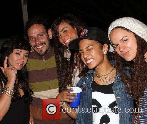 Sara Bettencourt, Whitney Mixter and Guests Gay Pride...