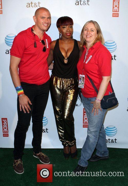 Jeff, Estelle, Patti DiLuigi Gay Pride 2011 held...