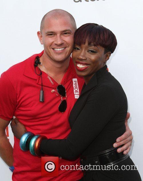 Jeff and Estelle Gay Pride 2011 held at...