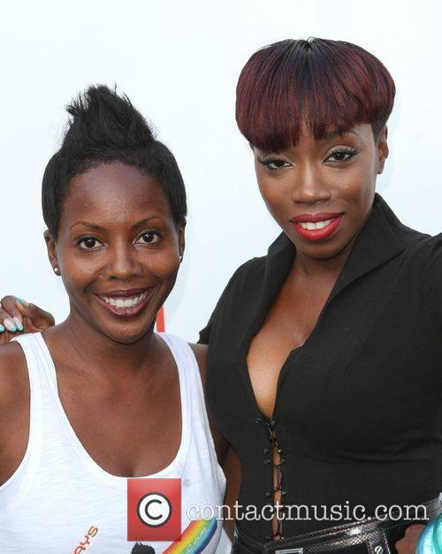 DJ Asha and Estelle Gay Pride 2011 held...