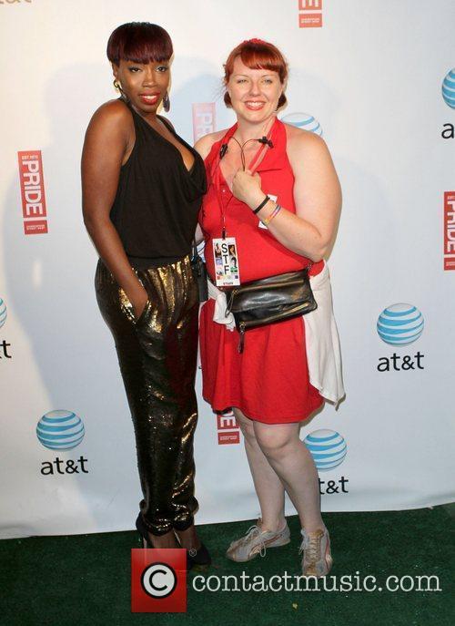 Estelle, Clarity Gay Pride 2011 held at the...