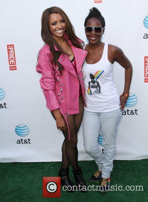 Kat Graham, DJ Asha Gay Pride 2011 held...