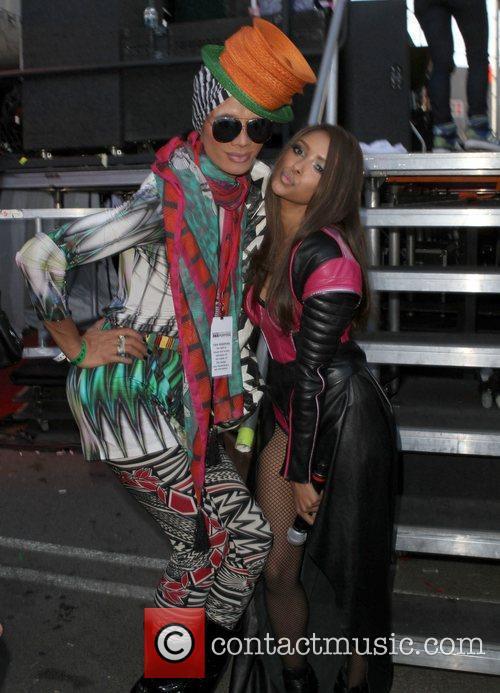 Kat Graham and Guest Gay Pride 2011 held...