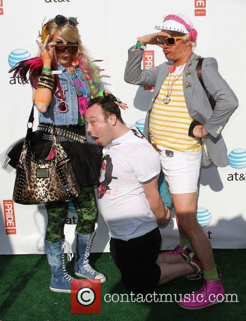 Gay Pride 2011 held at the West Hollywood...