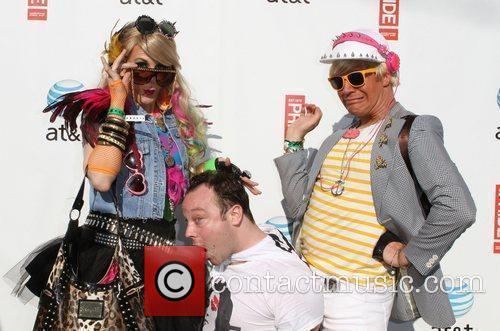 Mike Killmon with Jessica and Hunter Gay Pride...