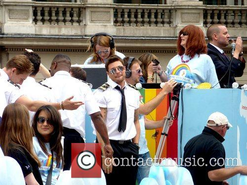 Celebrities attending London Gay Pride 2011