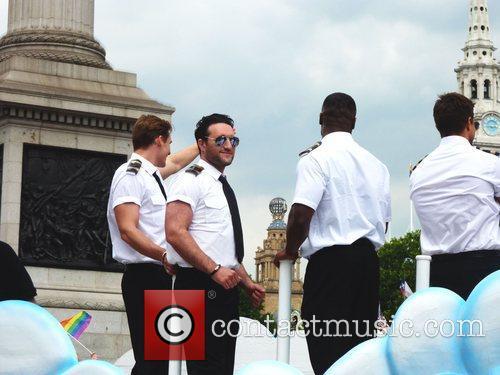 Blue Celebrities attending London Gay Pride 2011 London,...