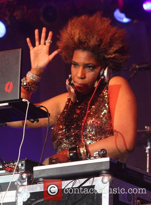 DJ Macy Gray Gay Pride 2011 Opening Night