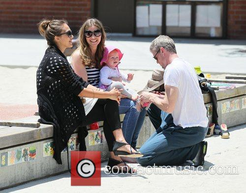 Rebecca Gayheart, Eric Dane and Jessica Alba 7