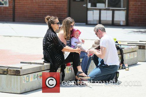 Rebecca Gayheart, Eric Dane and Jessica Alba 4