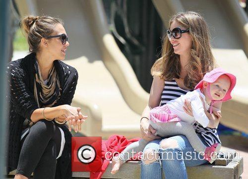 Rebecca Gayheart and Jessica Alba 2