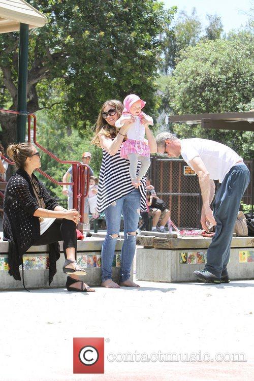 Rebecca Gayheart, Eric Dane and Jessica Alba 6