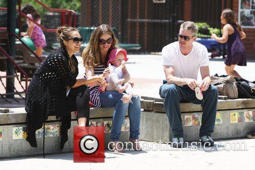 Rebecca Gayheart, Eric Dane and Jessica Alba 3