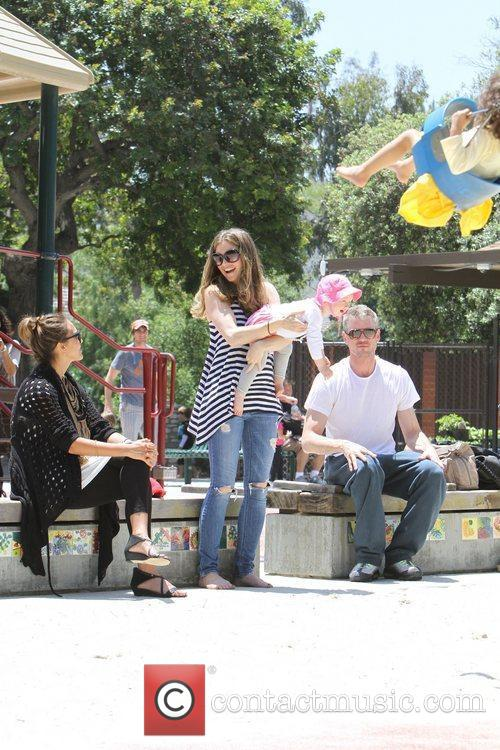 Rebecca Gayheart, Eric Dane and Jessica Alba 2