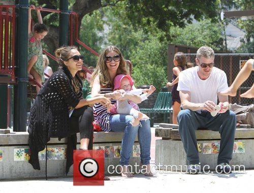 Rebecca Gayheart, Eric Dane and Jessica Alba 1