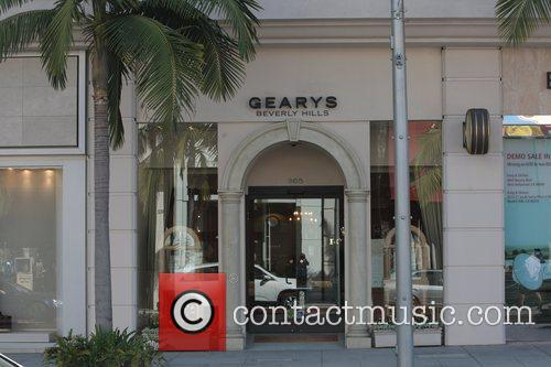 Atmosphere A general view of Gearys Beverly Hills,...