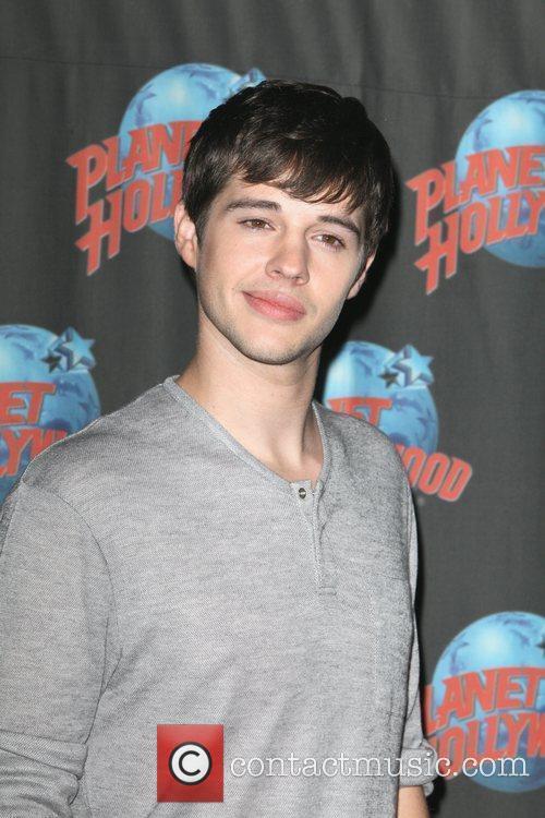 Matt Prokop Disney film stars attend a press...