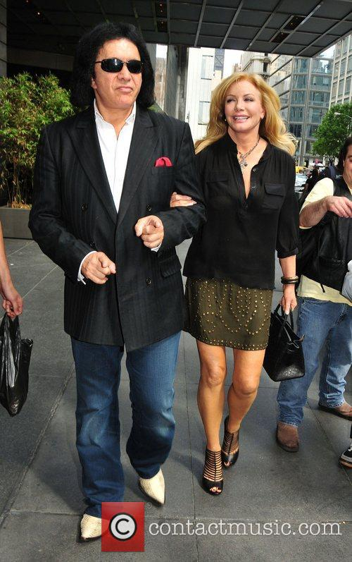 Gene Simmons, Midtown and Shannon Tweed 2