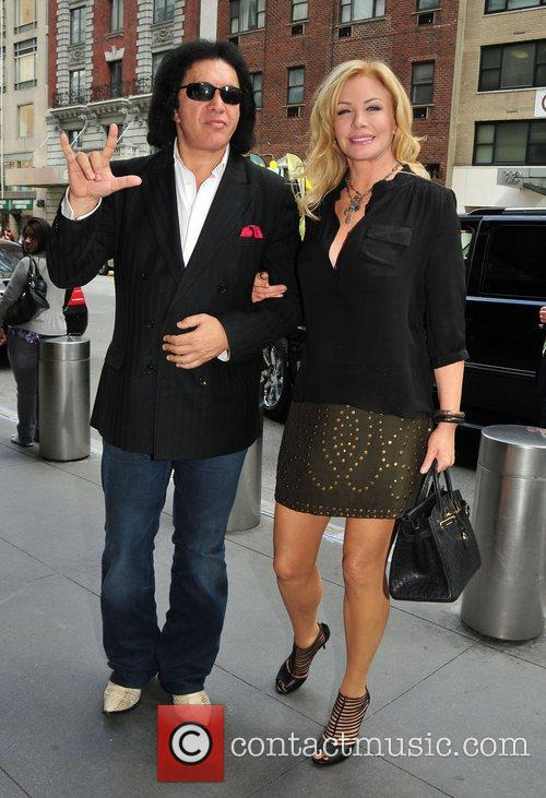 Gene Simmons, Midtown and Shannon Tweed 4