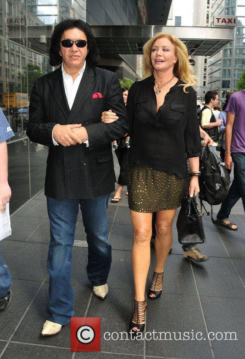 Gene Simmons, Midtown and Shannon Tweed 3