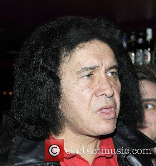 Gene Simmons at the 'Inner City Elegance' special...