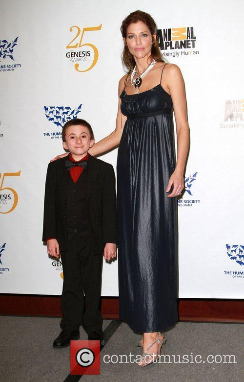 Atticus Shaffer and Tricia Helfer 4