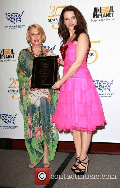 Tippi Hedren and Kristin Davis 7